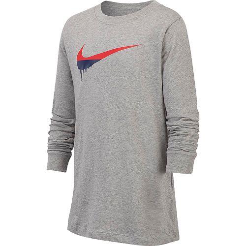 Boys 8-20 Nike Dripped Paint Swoosh Tee