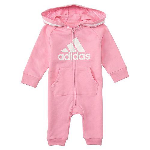 Baby Girl adidas Coverall