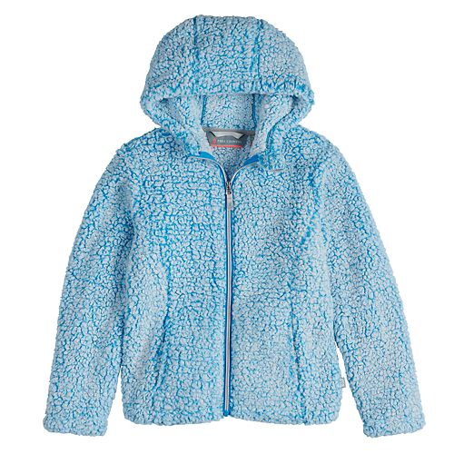 Girls 4-16 Free Country Frosty Butterpile Jacket with Hood