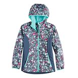Girls 4-16 Free Country Softshell Jacket With Hood