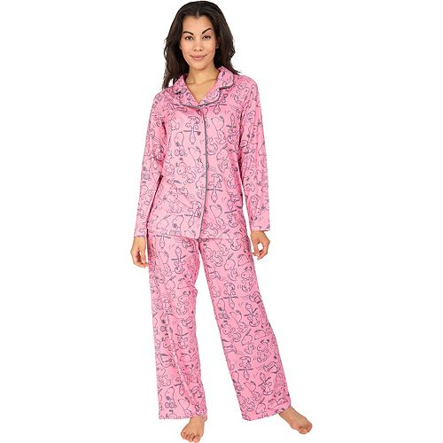 Women's Nite Nite by Munki Munki Snoopy 2-Piece Pajama Set