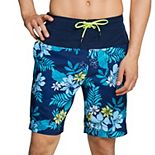 Men's Speedo Hawaiian Floral Bondi Swim Trunks