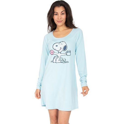 Women's Nite Nite by Munki Munki Snoopy Sleepshirt