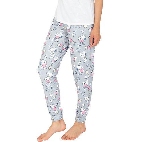 Women's Nite Nite by Munki Munki Snoopy Heart Pajama Pants