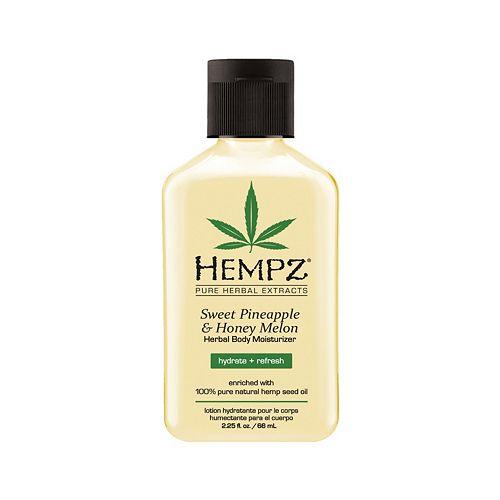 Hempz Sweet Pineapple & Honey Melon Herbal Body Moisturizer - Travel Size