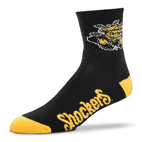 Men's Wichita State Shockers Team Color Quarter Socks