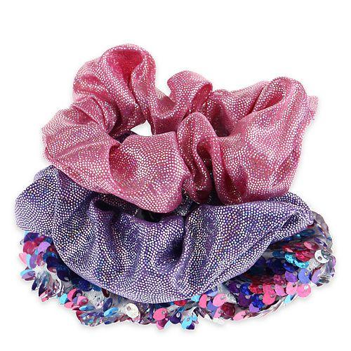 Girls Elli by Capelli 3-piece Scrunchies