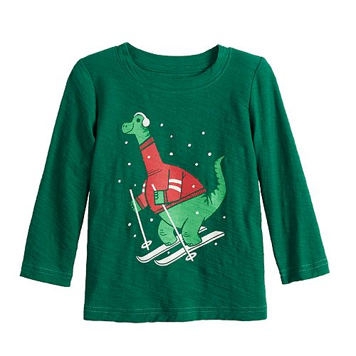 Baby Boy Jumping Beans® Christmas Graphic Tee