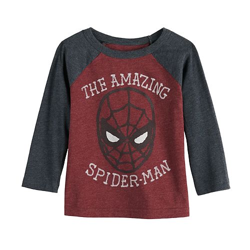 Baby Boy Jumping Beans® Long-Sleeve Amazing Spider-Man Tee