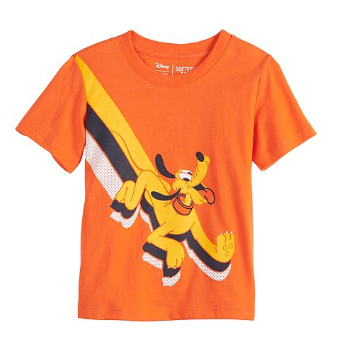 Disney's Pluto Toddler Boy Short Sleeve Softest Graphic Tee by Jumping Beans®