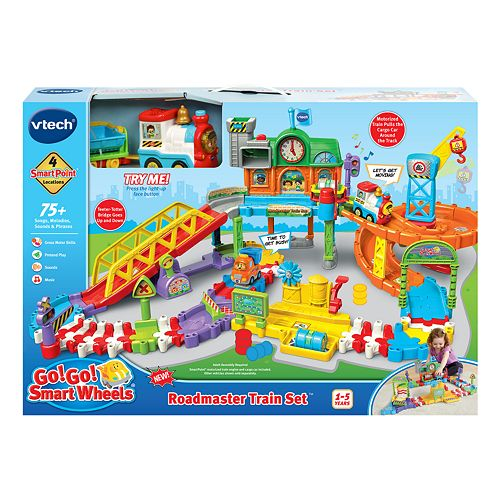 VTech® Go! Go! Smart Wheels® Roadmaster Train Set™