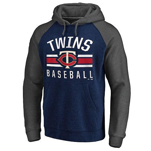 Men's Minnesota Twins Fleece Pullover Hoodie