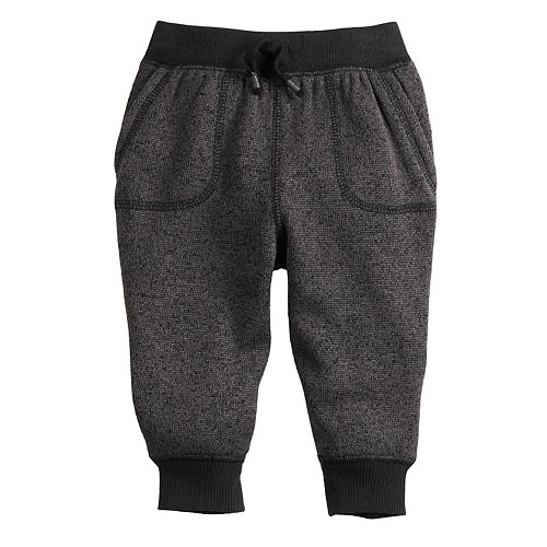 Baby Boy Jumping Beans® Infant Sweater Fleece Joggers