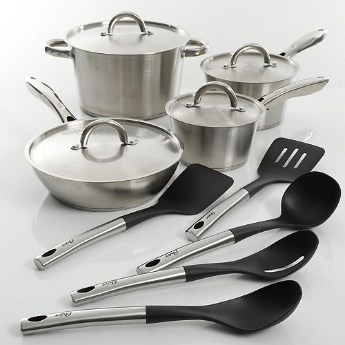 Oster Warwick 13-pc. Stainless Steel Cookware Set