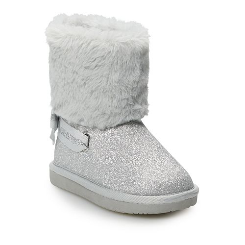 Toddler Girl Jumping Beans® Marshmallow Winter Boots