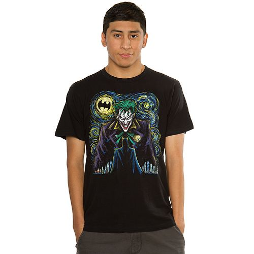 Men's Batman Abstract Joker Tee