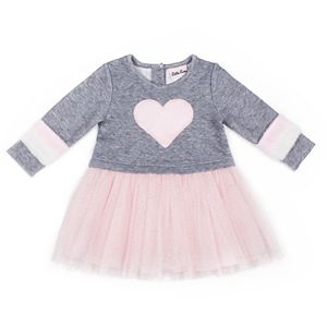 Toddler Girl Little Lass Quilted Tulle Dress