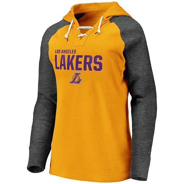 Women S Los Angeles Lakers Fleece Pullover Hoodie