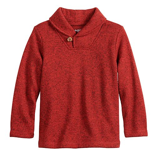 Toddler Boy Jumping Beans® Shawl Collar Sweater