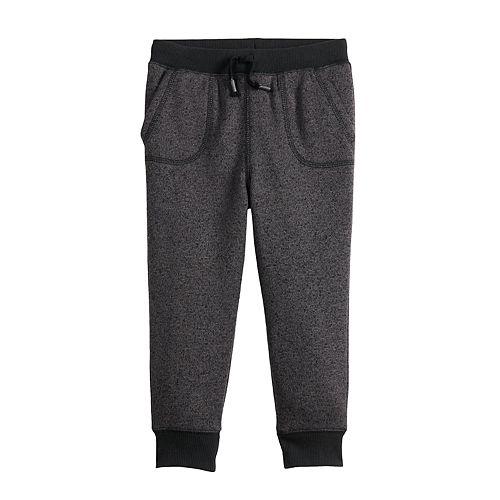 Toddler Boy Jumping Beans® Sweater Fleece Jogger Pants