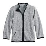 Toddler Boy Jumping Beans® Fleece Sweater Jacket