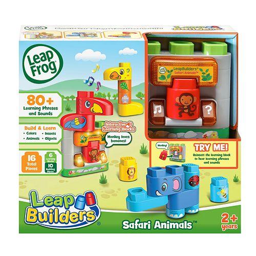 LeapFrog LeapBuilders® Safari Animals