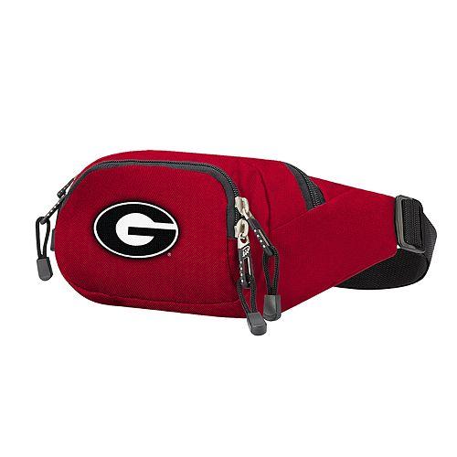 Georgia Bulldogs Cross Country Waist Bag