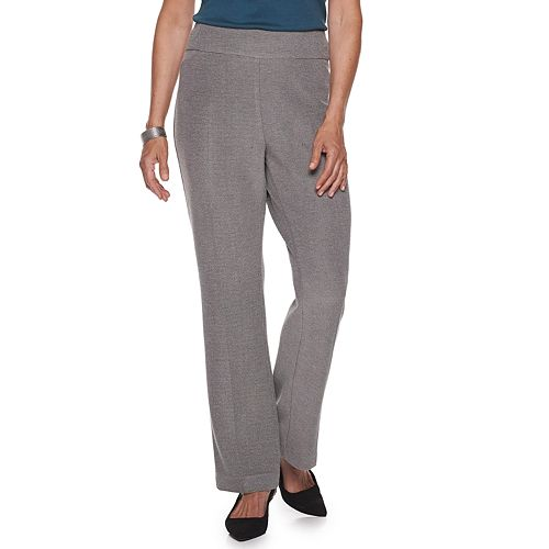 Women's Croft & Barrow® Pull on Oxford Knit Pant