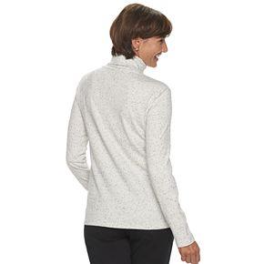 Women's Croft & Barrow® Classic Long Sleeve Turtleneck