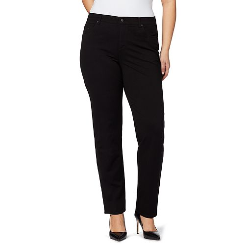 Plus Size Gloria Vanderbilt Amanda Ponte Pants