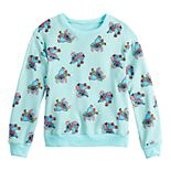 Girls 7-16 Disney's Stitch Long Sleeve Pullover