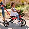 Yvolution Y Velo Flippa Red 3-in-1 Push Trike to Balance Bike