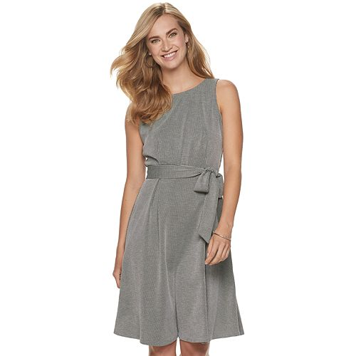 Women's ELLE™ Fit and Flare Dress