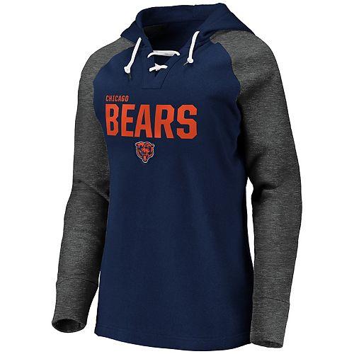 Women's Chicago Bears Fleece Pullover Hoodie