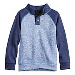 Boys 4-12 SONOMA Goods for Life? Raglan Sweater Fleece