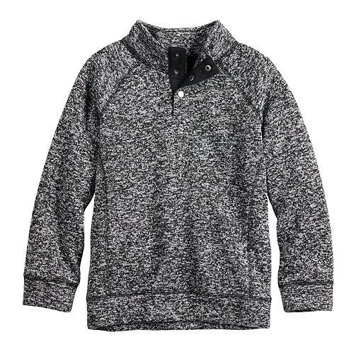 Boys 4-12 SONOMA Goods for Life™ Raglan Sweater Fleece