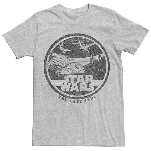 Men's Star Wars The Last Jedi Retro Style Tee