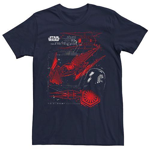 Men's Star Wars Kylo Ren Tie Silencer T-shirt