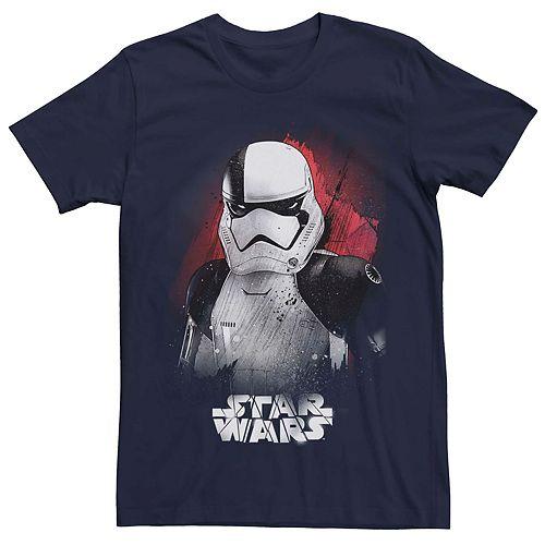 Men's Star Wars Stormtrooper Portrait Graphic T-shirt