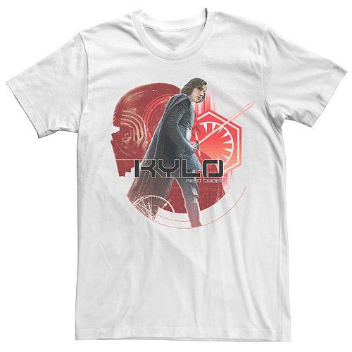 Men's Star Wars Kylo Ren First Order Symbol Poster Tee
