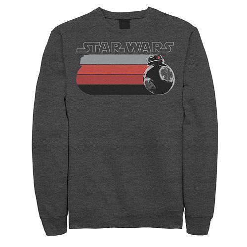 Men's Star Wars BB-8 Color Streak Fade Fleece