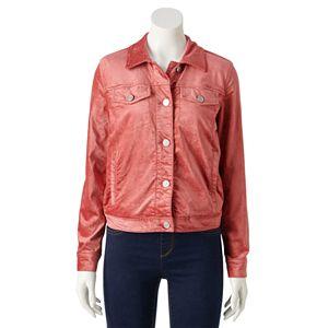 Women's LC Lauren Conrad Corduroy Trucker Jacket