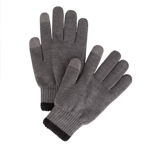Men's Van Heusen Sport Plush-Lined Fleece Touchscreen Gloves