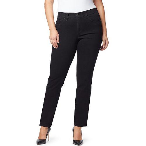 Plus Size Gloria Vanderbilt Revolution Solution Straight-Leg Jeans