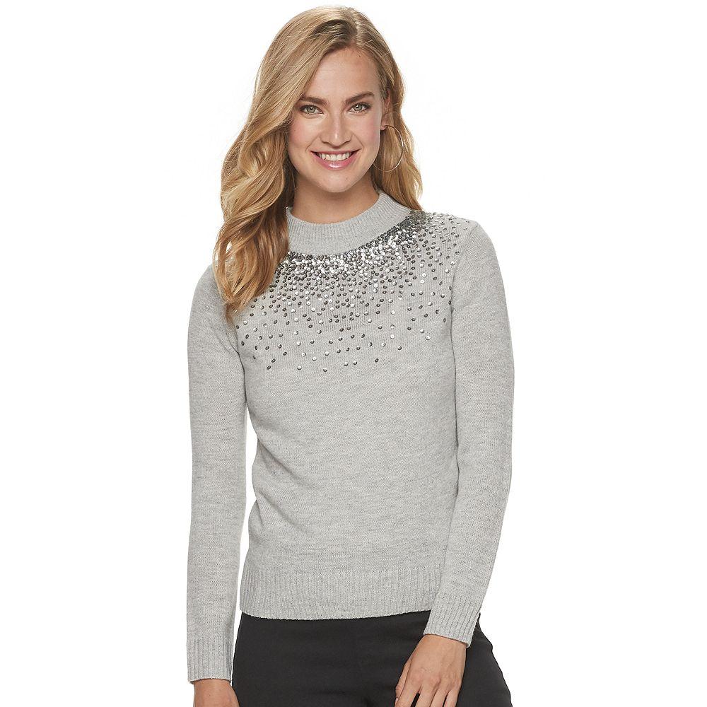 Women's Juicy Couture Gradient-Sequin Sweater