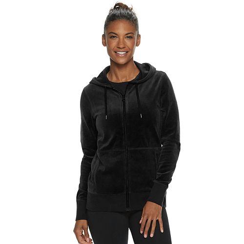 Women's Tek Gear® Hooded Velour Jacket