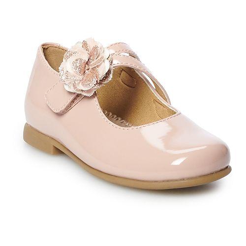 Rachel Shoes Lil Brena Girls V-Strap Dress Shoes