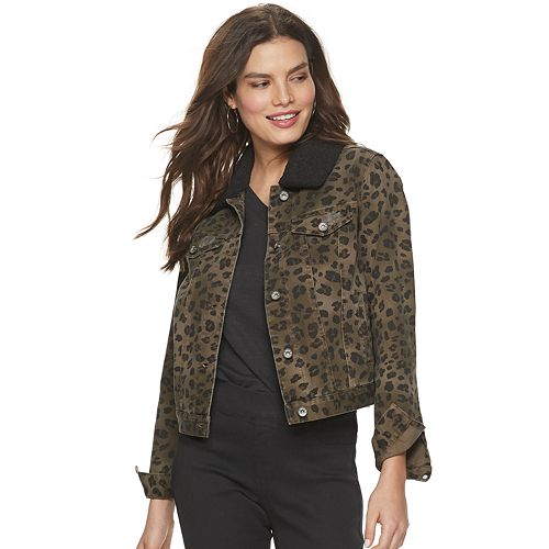 Women's Rock & Republic® Removable Sherpa Collar Jacket