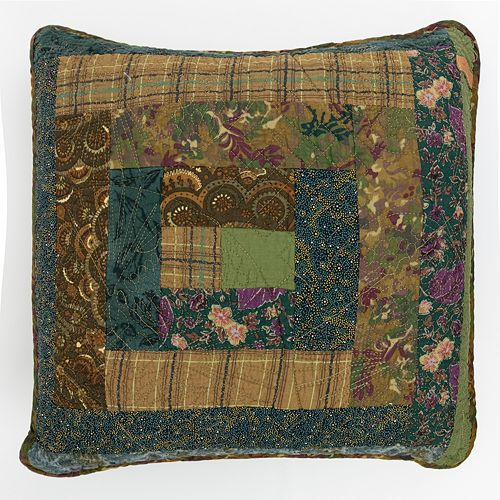 Donna Sharp Cabin Raising Throw Pillow