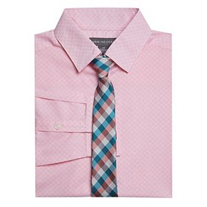 Boys 8-20 Van Heusen Button-Up Shirt & Tie Set